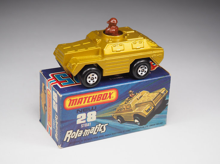 MATCHBOX ROLAMATICS - 28 - STOAT