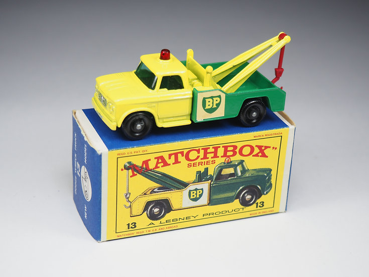 MATCHBOX - 13d - DODGE WRECK TRUCK (PAINTED GRILLE)