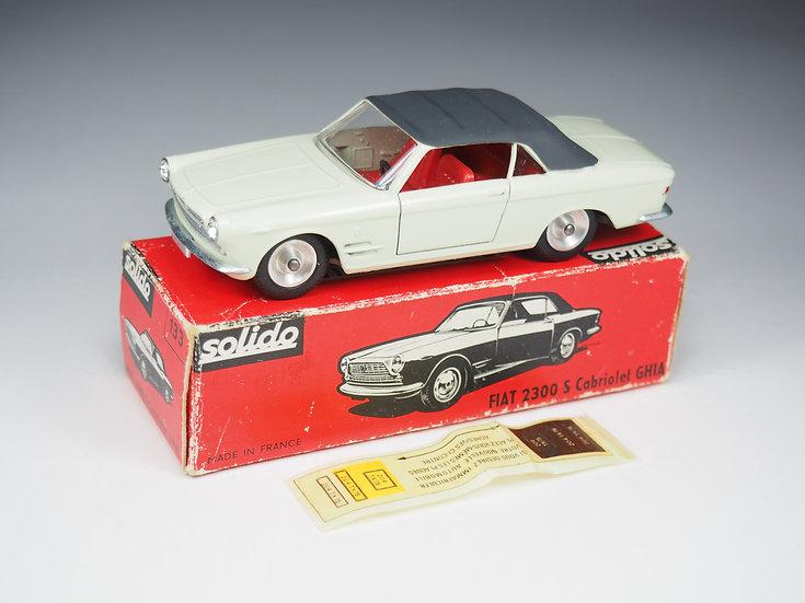 SOLIDO - 133 - FIAT 2300S CABRIOLET GHIA - 1/43e