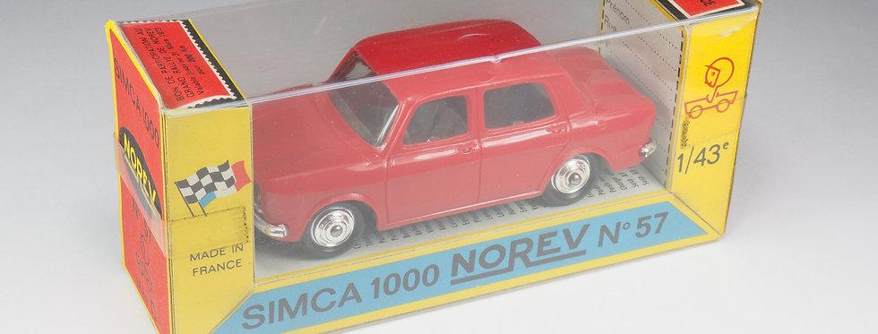 NOREV - 57 - SIMCA 1000