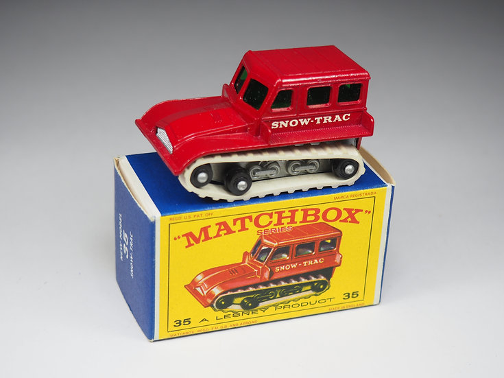 MATCHBOX - 35b - SNOW TRAC