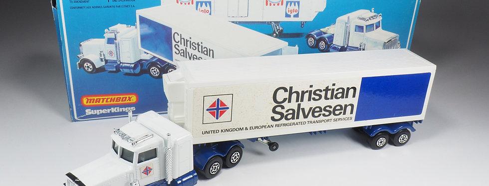 MATCHBOX - K31 - PETERBILT «CHRISTIAN SALVESEN» - REVERSE PANELS VARIATION