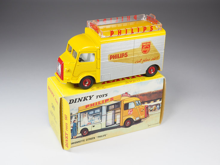 "DINKY TOYS FRANCE - 587 - CAMIONNETTE CITROEN ""PHILIPS"""