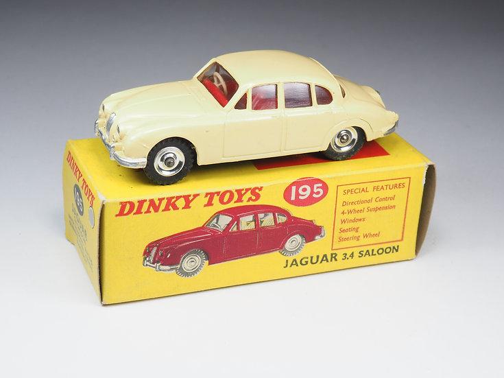 DINKY TOYS ENGLAND - 195 - JAGUAR 3.4L SALOON