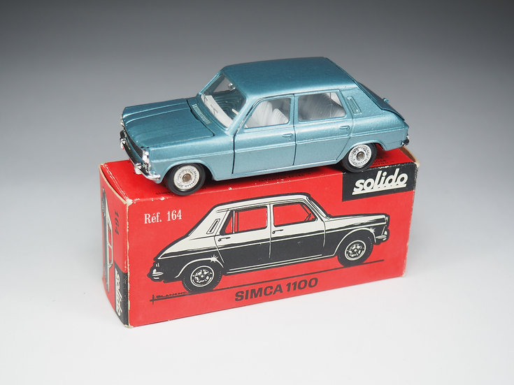 SOLIDO - 164 - SIMCA 1100 - 1/43e