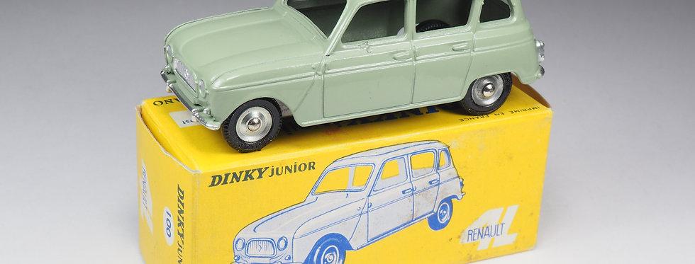 DINKY TOYS JUNIOR - 100 - RENAULT 4L