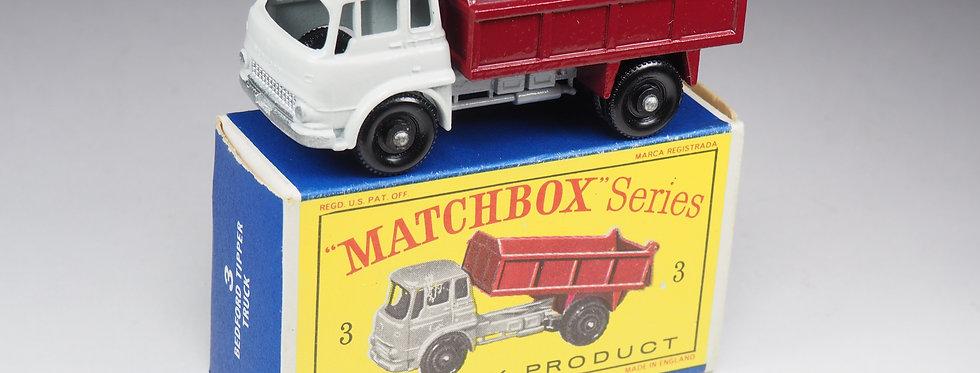 MATCHBOX - 3 - BEDFORD TIPPER TRUCK
