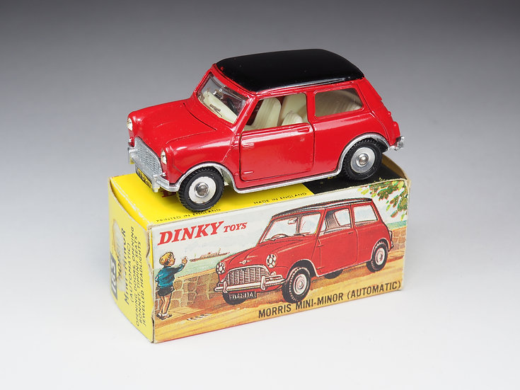 DINKY TOYS ENGLAND - 183 - MORRIS MINI-MINOR