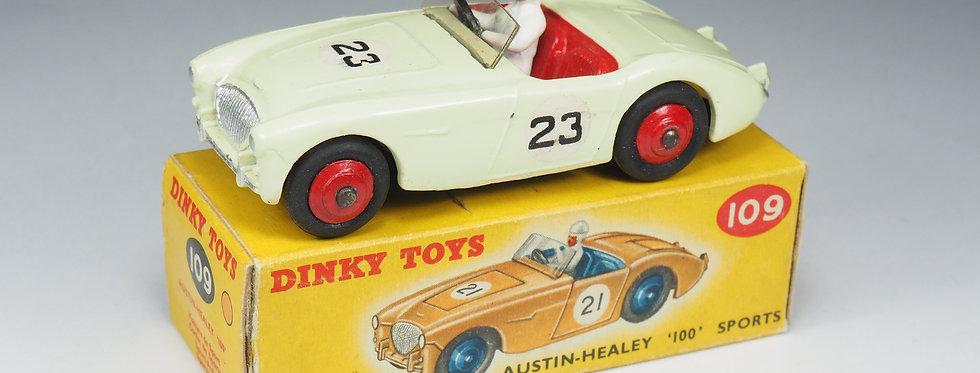 "DINKY TOYS - 109 - AUSTIN HEALEY ""100"" SPORTS - 1/43e"