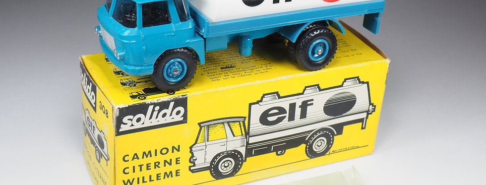 SOLIDO - 308 - CAMION WILLEME CITERNE