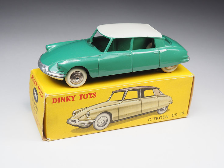 DINKY TOYS FRANCE - 24C - CITROEN DS 19 - VERT FROID