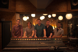 The band in the control room