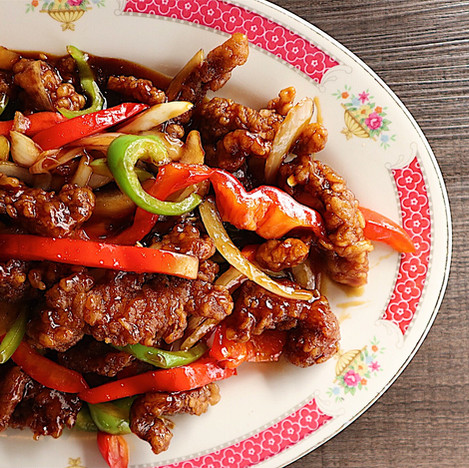 Ginger Fried Beef