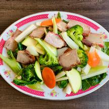 BBQ Pork Chop Suey