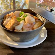 Seafood Tofu Hot Pot