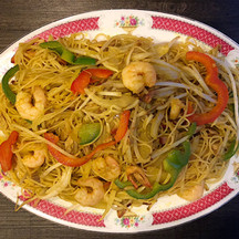Singapore Curried Noodle