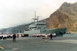 CENTINELA_P-72_©Noray._Entrega_bandera_combate._9_julio_1995_(1)