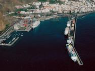 2003 (9 de noviembre). COSTA ALLEGRA, VOLCÁN DE TACANDE, SAGA ROSE, CAROUSEL y en el muell