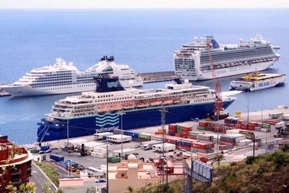 El puerto de La Palma movió hasta mayo más cruceristas que pasaje de línea regular