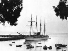 01JUAN SEBASTIAN DE ELCANO 8642567. Noviembre de 1948. Fuente Historia de La Palma (Facebook).jpg