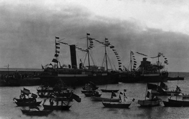ATLANTE 1104246 y VIERA Y CLAVIJO 1922. Fuente Historia de La Palma (Facebook)