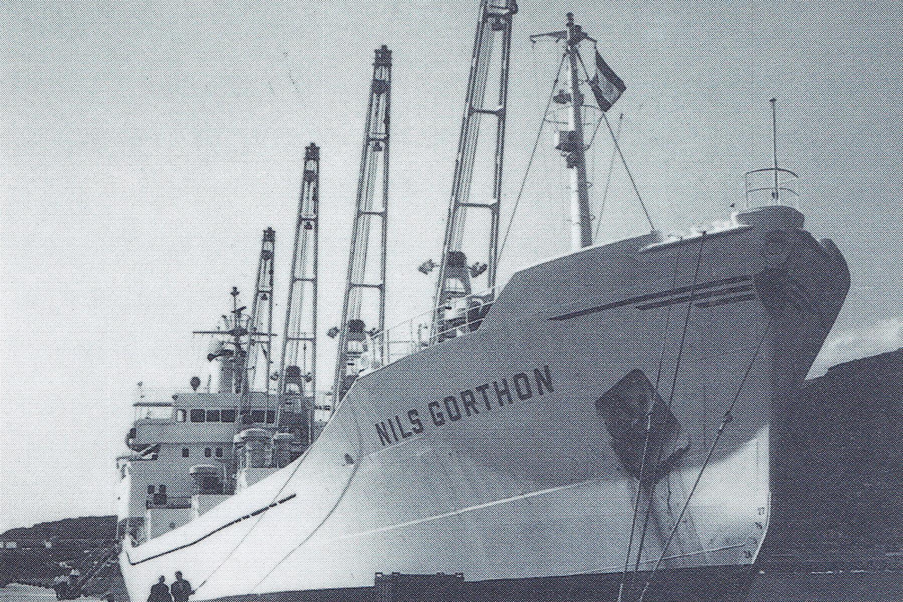 NILS GORTHON Archivo J. Casamajor