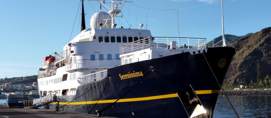 Obligan al SERENISSIMA, tercer crucero que atracará en el Puerto de Tazacorte, a hacer escala primer