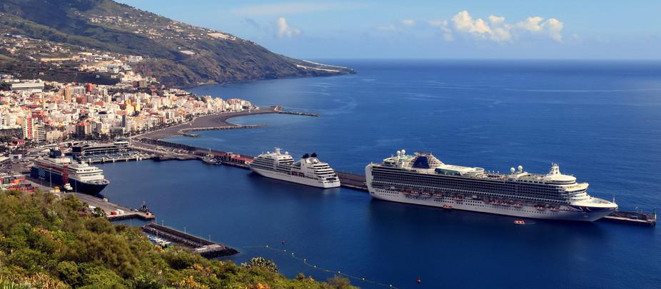 La Palma será punto de salida de un crucero turístico por Canarias, Madeira y Agadir