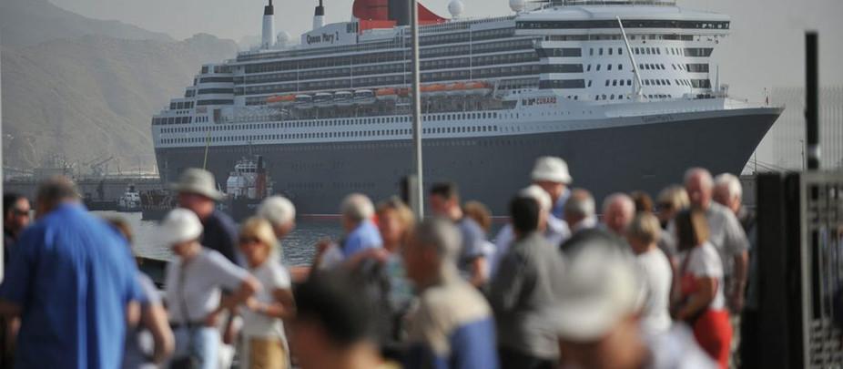 Canarias aspira a recuperar al 40% de los turistas de crucero
