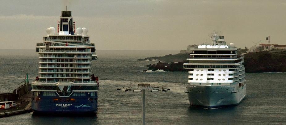 Protagonistas MEIN SCHIFF 1 y SEVEN SEAS EXPLORER