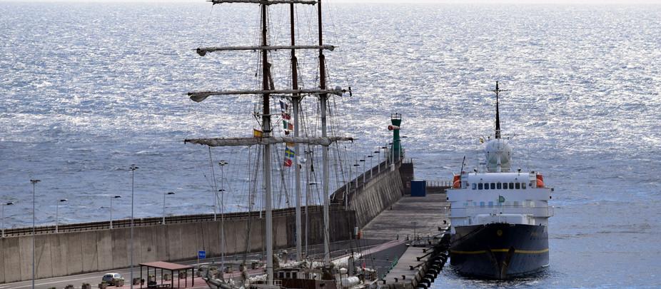 El crucero SERENISSIMA se queda en Santa Cruz y no irá al Puerto de Tazacorte