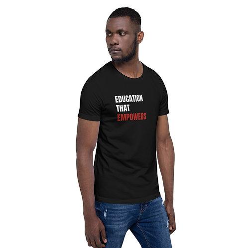 Education That Empowers Unisex T-Shirt (Dark)