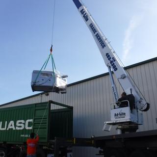 Lifting Heavy Machinery
