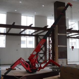 Spyder Crane Indoors
