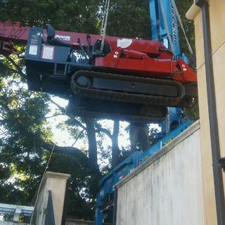 Hoisting Spyder Crane