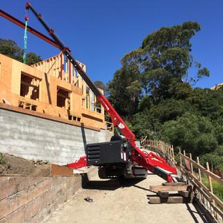 Spyder Crane Hill Work