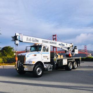 Ad-Lite Crane Service Manitex Crane, San Francisco Marin Sonoma