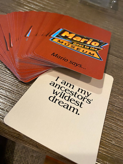 """""""Mario Says"""" Affirmation Cards"""