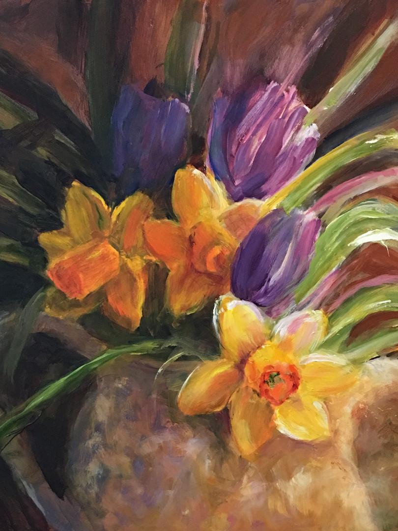 Daffodils #3 by Julia Watson