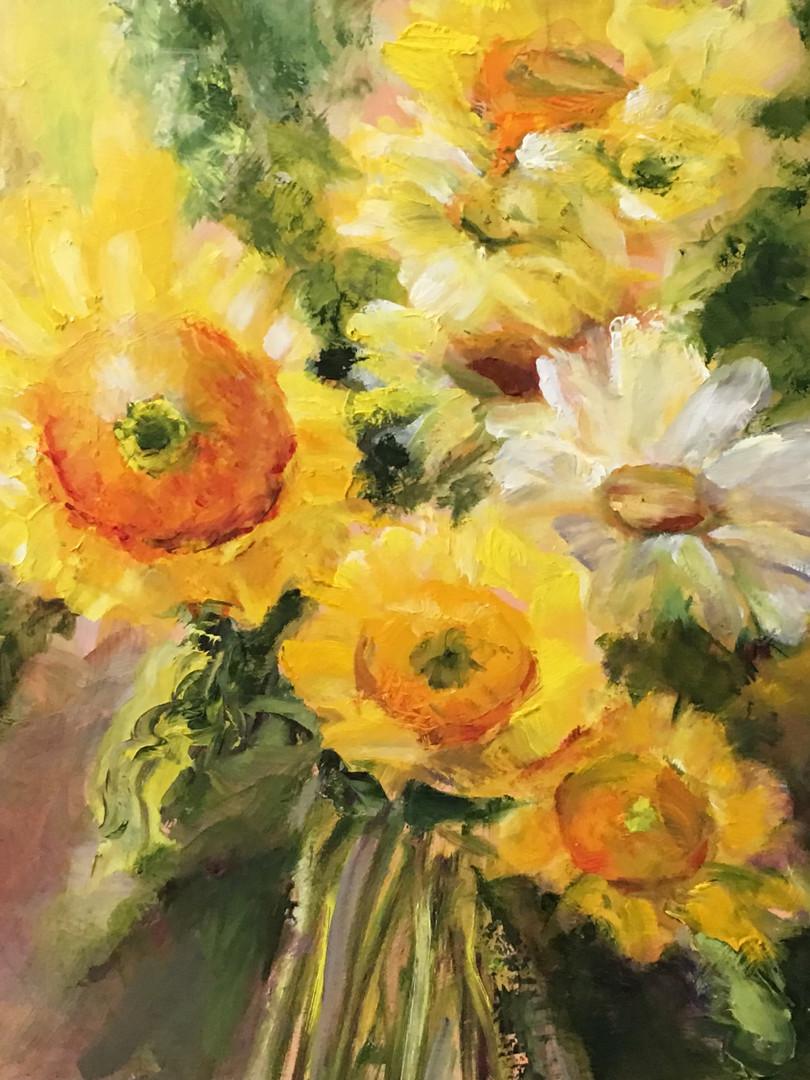 Summer Sunflowers by Julia Watson