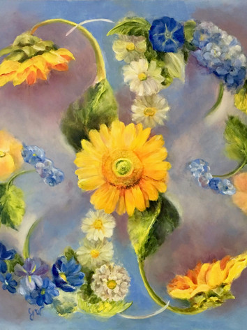 Flower Mandala #4 by Julia Watson
