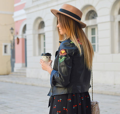 Hat and Coffee