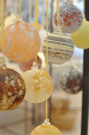 Boules de Noël astre