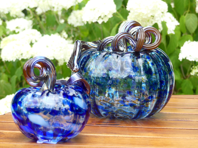 Citrouilles bleues