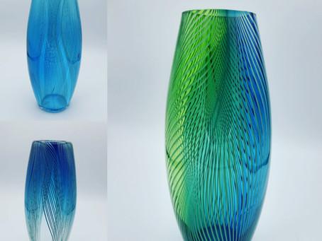 Vases plume