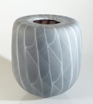 Vase filigrane, création originale Frédéric Alary