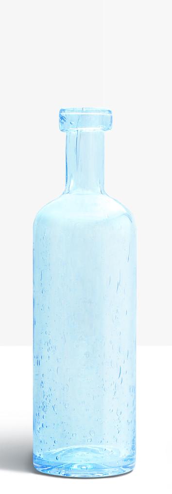 Petite bouteille bleu clair