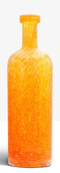 Grande bouteille orange
