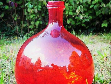 Voici nos grands vases colorés inspirés de Dames-Jeanne, pour une déco tendance!
