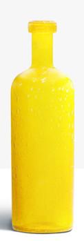 Grande bouteille jaune